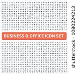 business and financial icon set ... | Shutterstock .eps vector #1080224213