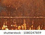 metal texture with scratches... | Shutterstock . vector #1080247859