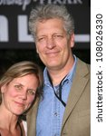 "Small photo of Jeanne Johnson and Clancy Brown at the World Premiere of ""Wall E"". Greek Theatre, Hollywood, CA. 06-21-08"