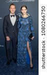 Small photo of New York, NY, USA - April 25, 2018: Marcel Floruss (L) and guest attend the Brooks Brothers Bicentennial Celebration at Jazz At Lincoln Center, Manhattan