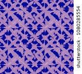 tie dye indigo shibori print.... | Shutterstock . vector #1080285554