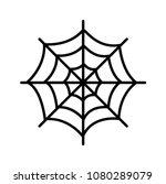 spiderweb icon logo...   Shutterstock .eps vector #1080289079