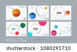 material design presentation... | Shutterstock .eps vector #1080291710