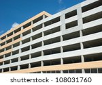 urban multi storey car parking | Shutterstock . vector #108031760