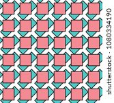 seamless geometric vector... | Shutterstock .eps vector #1080334190