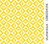 seamless yellow geometric... | Shutterstock .eps vector #1080334196