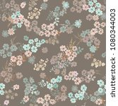 simple cute pattern in small... | Shutterstock . vector #1080344003