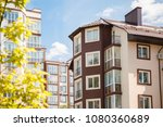 new constructed multi storey... | Shutterstock . vector #1080360689