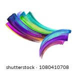 creative brush stroke clip art... | Shutterstock . vector #1080410708