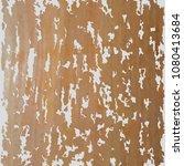 scratched rust background.... | Shutterstock .eps vector #1080413684