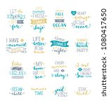 hand drawn illustrated... | Shutterstock .eps vector #1080417650