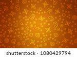 light orange vector cover with... | Shutterstock .eps vector #1080429794