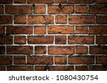 old brick wall. grunge... | Shutterstock . vector #1080430754