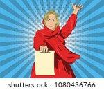 vector illustration of pop art...   Shutterstock .eps vector #1080436766