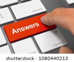 Answers Pushing Keyboard With...