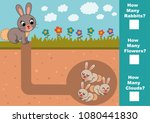 educational mathematical game... | Shutterstock .eps vector #1080441830