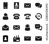 flat vector icon set   personal ... | Shutterstock .eps vector #1080458390