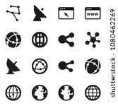flat vector icon set   world... | Shutterstock .eps vector #1080462269