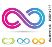 vector illustration of infinity ...   Shutterstock .eps vector #108046349
