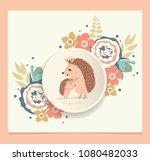 cartoon wild animals for kids....   Shutterstock .eps vector #1080482033