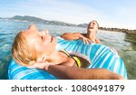 young couple vacationer having...   Shutterstock . vector #1080491879