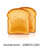 bread toast for sandwich piece... | Shutterstock .eps vector #1080511283