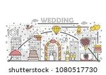 wedding concept illustration....