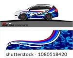 suv car graphics for vinyl wrap....   Shutterstock .eps vector #1080518420