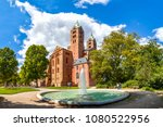 speyer  cathedral  germany  | Shutterstock . vector #1080522956