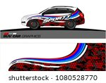 suv car graphics for vinyl wrap.... | Shutterstock .eps vector #1080528770