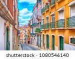 lisbon  portugal   march 29 ... | Shutterstock . vector #1080546140