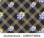 vector geometric seamless l... | Shutterstock .eps vector #1080573806