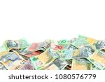 group of colorful australian... | Shutterstock . vector #1080576779