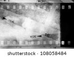 Film negatives overlapping ...