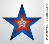 usa independence day star... | Shutterstock .eps vector #1080608273