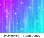 abstract multicolored striped... | Shutterstock .eps vector #1080609809