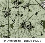 abstract geographical map.... | Shutterstock . vector #1080614378