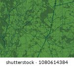 abstract geographical map.... | Shutterstock . vector #1080614384
