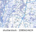 abstract geographical map.... | Shutterstock . vector #1080614624