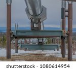 the alaskan pipeline | Shutterstock . vector #1080614954