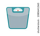 scales for weight. control of... | Shutterstock .eps vector #1080641360
