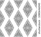ikat seamless pattern. surface... | Shutterstock .eps vector #1080646040