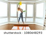 woman dancer removes an... | Shutterstock . vector #1080648293