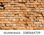 old grunge brick wall background | Shutterstock . vector #1080664739