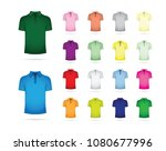 large set of t shirts | Shutterstock .eps vector #1080677996