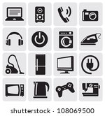 illustration with set of... | Shutterstock .eps vector #108069500