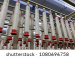 spindle in spinning machinery | Shutterstock . vector #1080696758