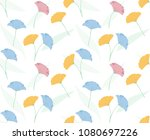 flower pattern background | Shutterstock .eps vector #1080697226