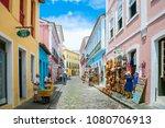 salvador  brazil   march 9 ... | Shutterstock . vector #1080706913