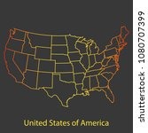 united states of america usa... | Shutterstock .eps vector #1080707399